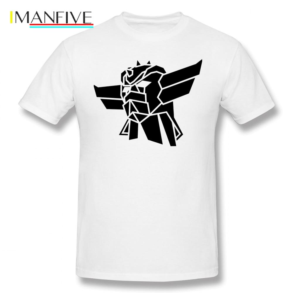 Goldorak T Shirt T-Shirt Awesome Short-Sleeve Tee Man 4xl Printed Basic 100 Percent Cotton Tshirt