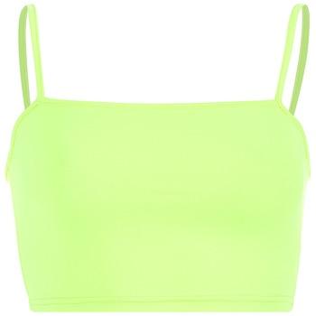 2020 neon tops Woman Fluorescence Color Short Dew Navel Camisole sexy tops streetwear workout bralette streetwear  crop top 8