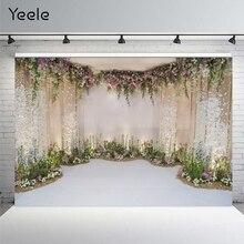 Backdrop Photography Married Photo-Studio Wedding-Get Yeele Flower Customized for Floret