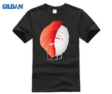 Cute Sushi Hug Fish Hugging Rice T-Shirt T-Shirt(China)