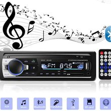 Bluetooth carro mp3 autoradio carro estéreo rádio fm aux entrada receptor sd usb JSD-520 12v in-dash 1 din multimídia rádio player