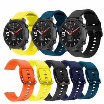 Weiche Silikon Handgelenk Strap Armband Für Huami Amazfit GTR GTS BIP Tempo Stratos3 2 2S Uhr Band Für Polar lgnite Vantage M Straps