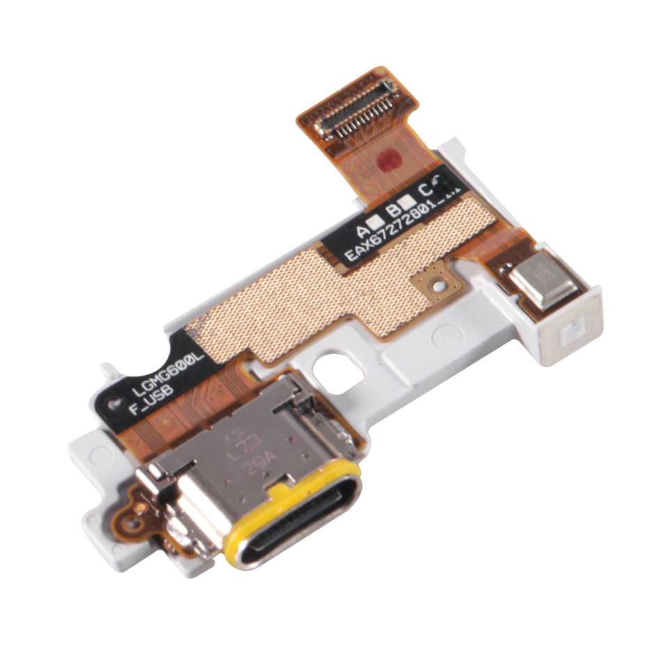 For LG G6 Type C Charging Port Charger Dock With Microphone Bottom Board Flex Cable Suit H870 H871 H872 LS993 VS998 US997 H873