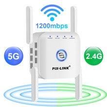 5G wzmacniacz sygnału WiFi WiFi wzmacniacz 5Ghz WiFi daleki zasięg Extender 1200M bezprzewodowy wzmacniacz Wi Fi Home Wi-Fi Internet wzmacniacz sygnału