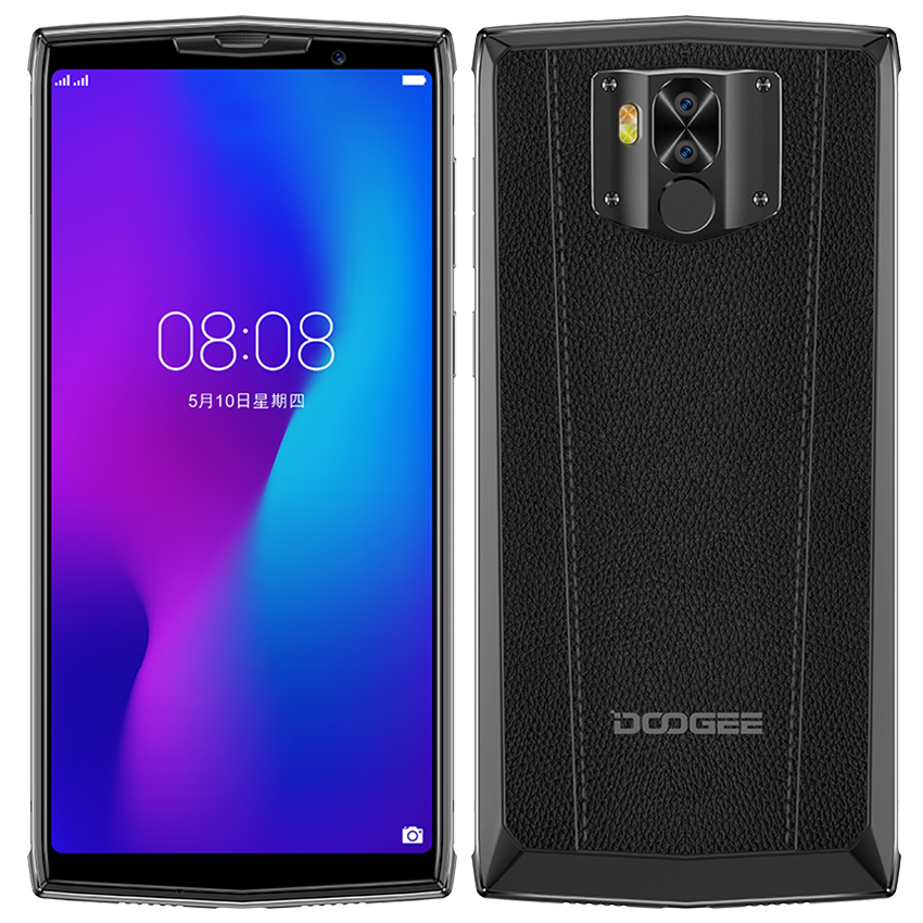 DOOGEE N100 NFC 10000mAh Android 9.0 Handy 4GB + 64GB 5,99 ''FHD + <font><b>Display</b></font> Helio P23 MT6763 Octa Core 21MP 4G Smartphone image