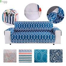 Fundas de algodón para sofá antipolvo para mascotas, antideslizantes, acolchadas, reclinables, 1/2/3 asientos, fundas para sofá, Protector de muebles