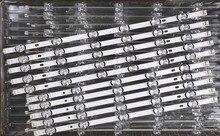 """5 ชุด = 50 ชิ้น 55LB650V 55LB5900 55LB6500 LED Strip สำหรับ LG Innotek DRT 3.0 55 """"_ A/ B ประเภท Rev01_140107 55LB 6916L 1833A 1834A 1989"""