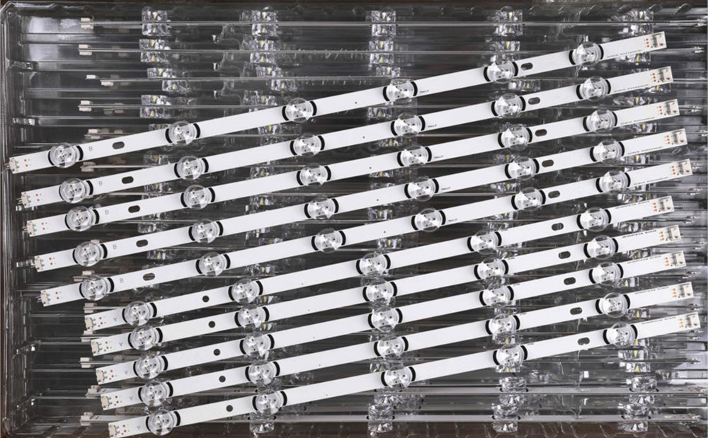 """5set = 50 stück 55LB650V 55LB5900 55LB6500 LED streifen für LG Innotek DRT 3 0 55 """"_ A/ B Typ Rev01_140107 55LB 6916L 1833A 1834A 1989-in Leuchtperlen aus Licht & Beleuchtung bei title="""