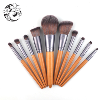ENERGY Brand Professional Sets Brush Nylon Hair Wood Handle Makeup Brush Brochas Maquillaje Pinceaux Maquilla mb2 image