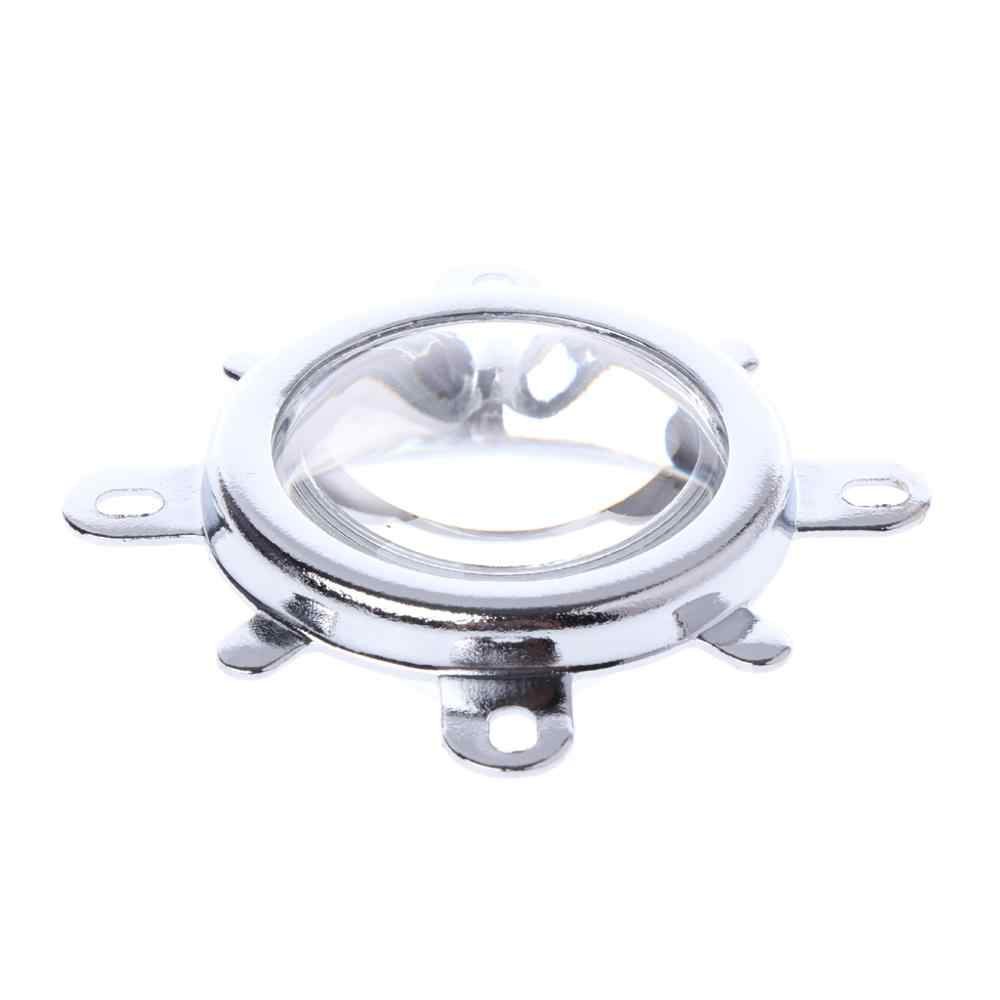 Lente de 44mm + colimador Reflector de 50mm + soporte fijo para lámpara de luz LED de 20 W-100 W