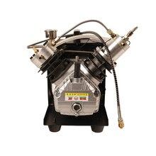 4500Psi компрессор с двойным цилиндром PCP компрессор высокого давления насос для воздушного пистолета наполнения бака пневматическая винтовка 110В 220В