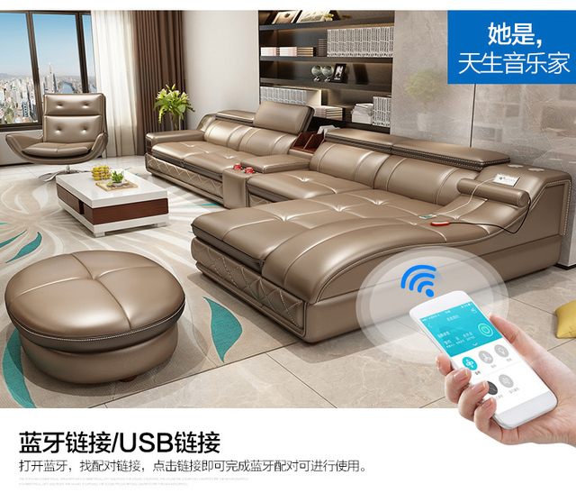 Luxury Living Room Sofa Set  3