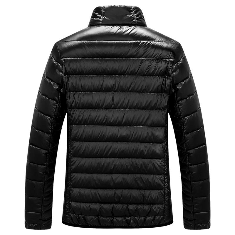 2020 New Fashion Casual Ultralight Mens Duck Down Jackets Autumn & Winter Coat Men Lightweight Duck Down Jacket Men Overcoats Men Men's Clothings Men's Sweaters/Coats/Jackets cb5feb1b7314637725a2e7: 020 blue