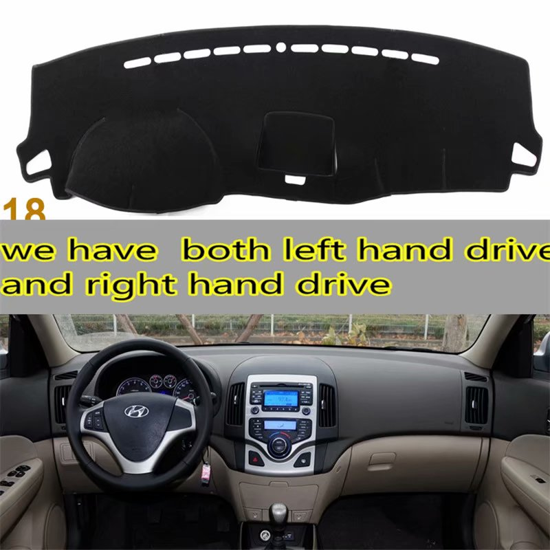 For Hyundai I30 Kombi Coupe 2007 2008 2009 2010 2011  Dashmat Car-styling Accessories Dashboard Cover Carpet Sun Shade Dash Mat