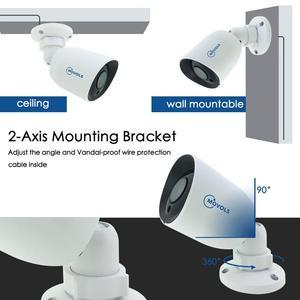 Image 4 - Камера видеонаблюдения Movols, AHD/TVI/CVI/аналоговая 4 в 1 с ночным видением, 60 футов, Кабель BNC и DCplug для системы DVR