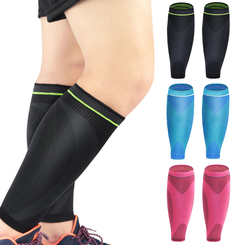 Sports Protection Calf Support Leg Sleeve Running Football Basketball 1 Piece SPSLF20020