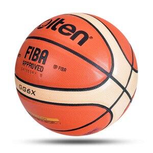 Image 2 - Mais novo profissional bola de basquete tamanho 6 material do plutônio com presente gratuito alta qualidade treinamento infantil esportes basquete baloncesto