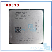 Amd Fx 8310 3.4 Ghz Acht-Core 3.4G/8M/95W Processor Socket AM3 + 4 Bestellingen