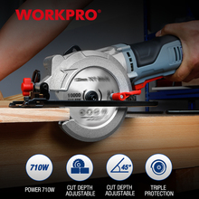 Power-Tools Blade-Sawing-Machine Tct-Blade Electric-Saw WORKPRO Diamond Multifunctional