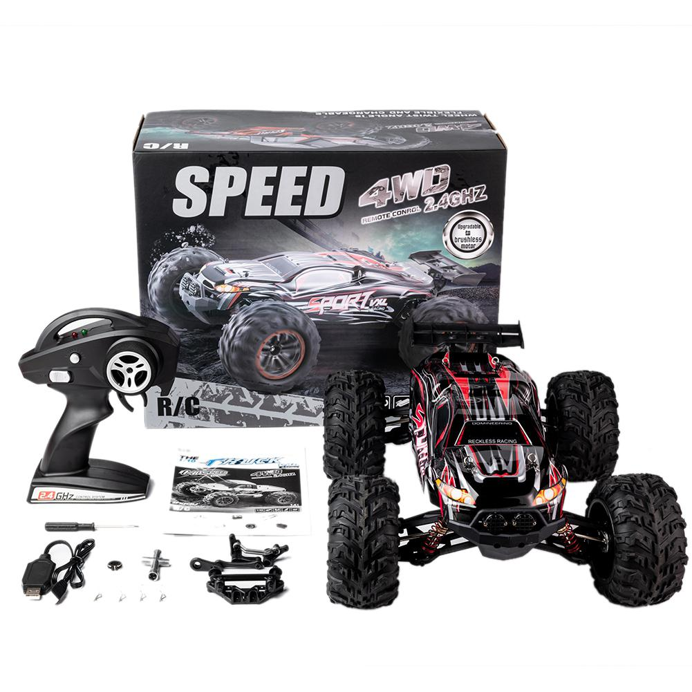 RC Car X-03 2.4G 1/10 4WD Brushless High Speed 60KM/H Big Foot Vehicle Models Truck Off-Road Vehicle Buggy RC Electronic Toys