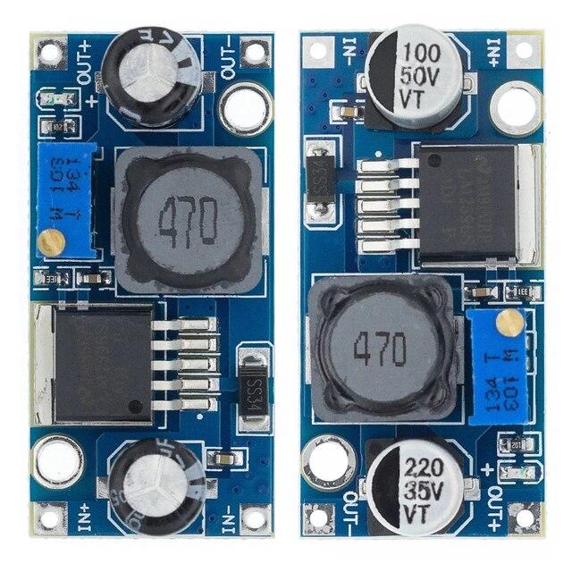 شحن مجاني 100 قطعة LM2596 LM2596S DC DC 4.5 40 فولت قابل للتعديل تنحى وحدة امدادات الطاقة جديد ، جودة عالية
