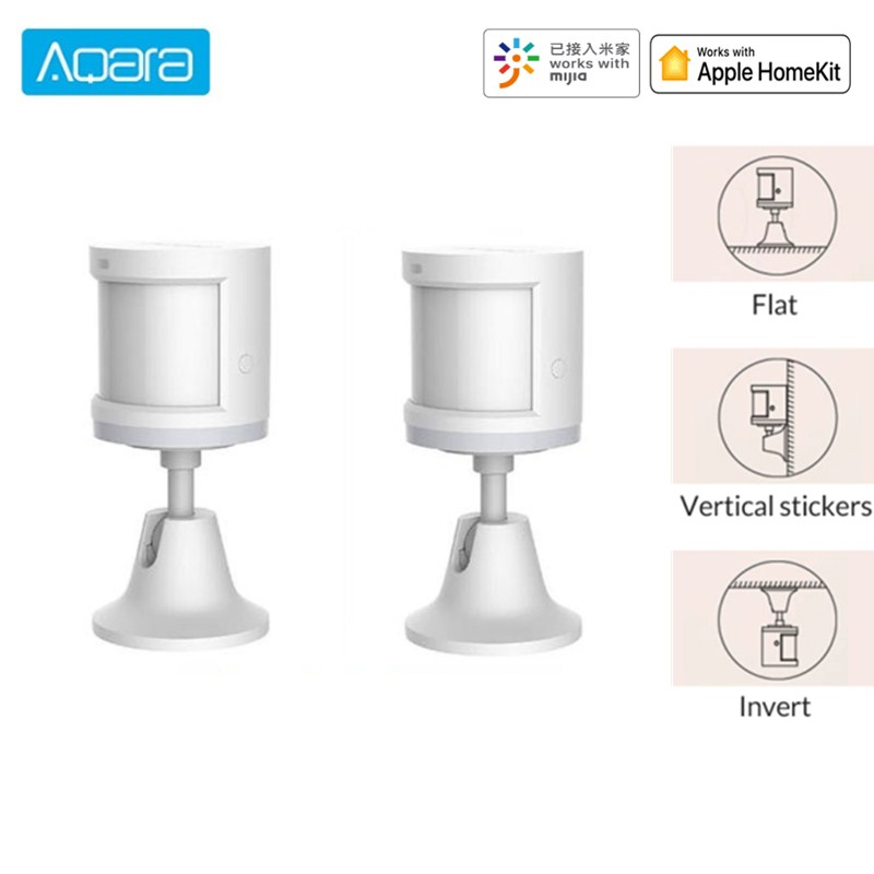 Aqara Smart Home Sensors Air Pressure Temperature Humidity Human Body Sensor E27 Smart LED Bulb Two-way Relay Controller HomeKit