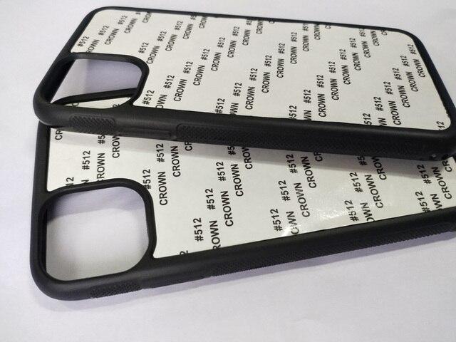 آيفون 12 5.4 بوصة 11 برو ماكس 5s SE 6 6S 7 8plus 2d المطاط بولي يوريثان التسامي طباعة الغلاف + الألومنيوم لوحة 5 جزء/الوحدة