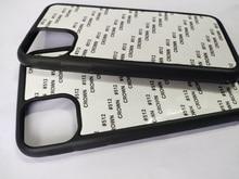 For iPhone 12 5.4 inch 11 pro Max  5S SE 6 6S 7 8plus 2d Rubber TPU sublimation print case cover + aluminium plate  5 piece /lot