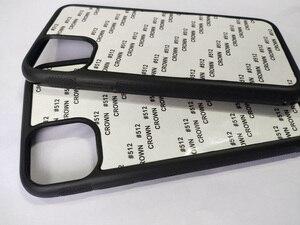 Image 1 - Для iPhone 12 5,4 дюймов 11 pro Max 5S SE 6 6S 7 8plus 2d Резиновый ТПУ чехол с сублимационной печатью + алюминиевая пластина 5 шт./лот