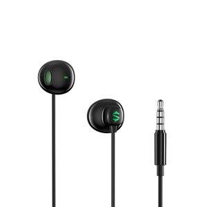 Image 1 - מקורי Xiaomi שחור כריש משחק אוזניות 3.5mm חצי ב אוזן חוט בקרת HiFi אוזניות עם מיקרופון עבור Xiaomi שחור כריש טלפון