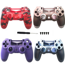 Replacement Smooth Soft Housing Shell For jds 040 JDM 040 DualShock 4 PlayStation 4 PS4 Pro V2 Controller Faceplate Back Case