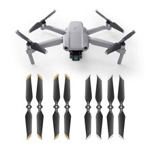 4 Pairs Propeller for DJI MAVIC AIR 2 Low-Noise Props Quick-Release Folding Blade Noise Reduction Prop Drone 7238F Accessory 4 pairs dji original mavic 2 low noise propellers for mavic 2 pro mavic 2 zoom 8743 quick release propeller