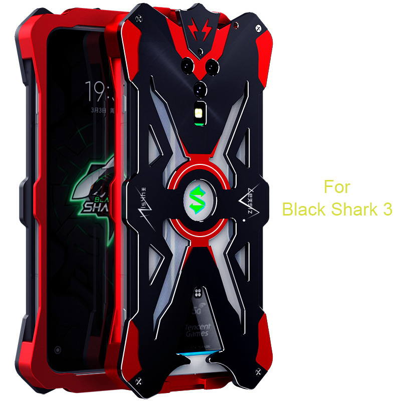 Black Shark 3 Metal Case For Xiaomi Black Shark 2 Pro Case Shockproof Aluminum Metal Cover Coque For Xiaomi Black Shark 3 Funda