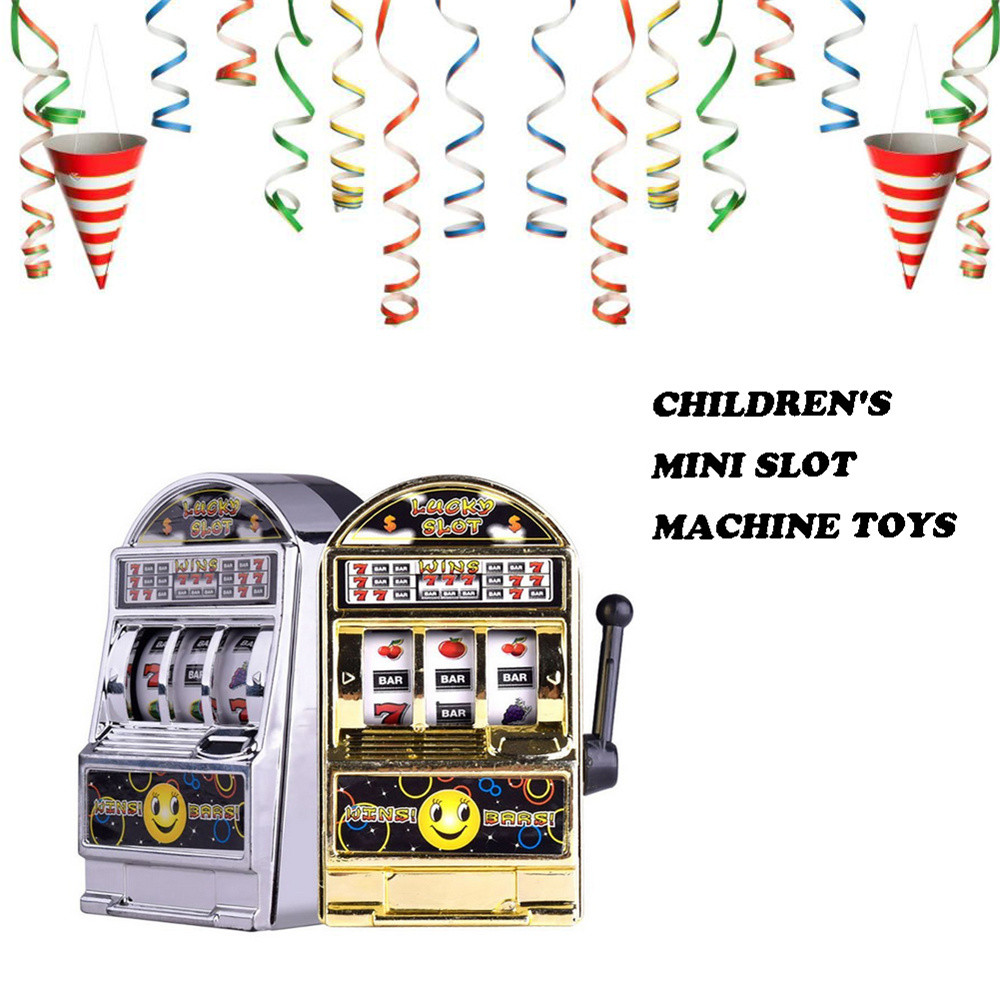 Mini Lucky Jackpot Slot Machine Fun Gift Fruit Slot Machine Dice Cards Games Kids Toys Toys For Children Juguetes Para Ninos