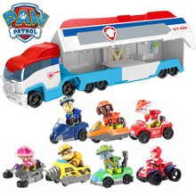 Paw Patrol Dog Juguete Original Rescue Bus Cars Patrulla Canina Ryder Toy Action Figure Anime Kids Toys for Children Gift SS01