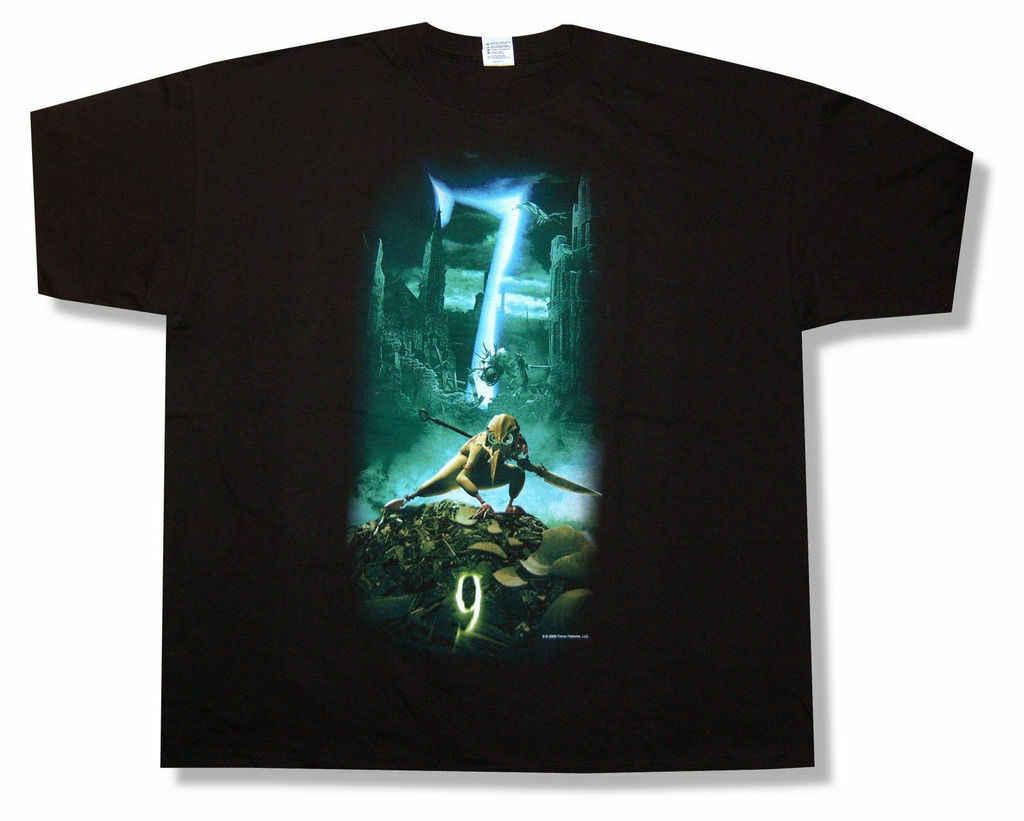 9 фильм, чтобы защитить нас (7) черная футболка для взрослых Новый Официальный Tim Burton