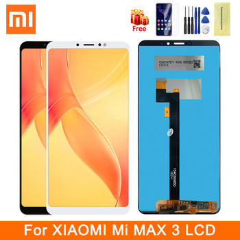 Original For 6.9 Xiaomi Max 3 Mi Max 3 LCD Display Mi Max3 LCD Screen Frame+Touch Screen Panel Digitizer Assembly Replacement factory quality ips lcd display 7 85 for supra m847g internal lcd screen monitor panel 1024x768 replacement