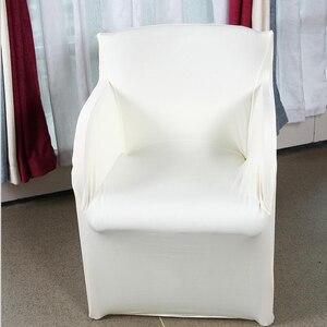Растягивающиеся Чехлы для стула из спандекса, чехлы для стула для свадебной вечеринки, чехлы для кресел Housse De Chaise Mariage