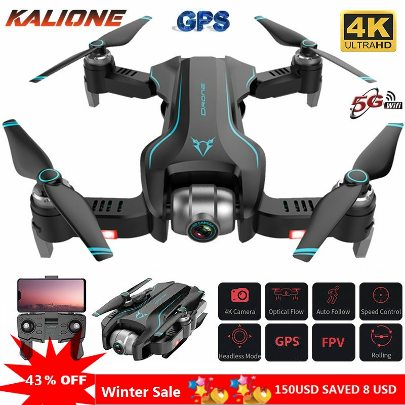 S20 Drone Profissional  GPS Drones 4K Quadrocopter With Camera Remote Control Helicopter Long Distance  Dron Birthday Gift