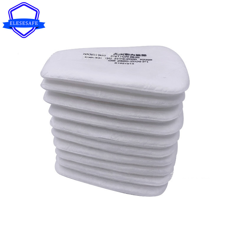 5N11 Cotton Filters 6200/7502/6800 Mask Respirator Accessories Dust-Proof Filter For Work Daily Safety