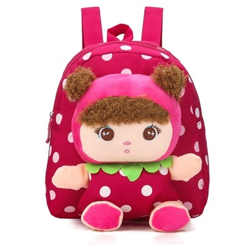 2020 3D Cartoon Plush Children Backpacks kindergarten Schoolbag Kids Backpack School Bags for Baby Girls - discount item  50% OFF School Bags