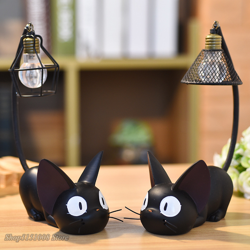 Baby Nursery Table Lamp Magic Cartoon Cat Animal Night Light Luminaria LED Night Lamp For Baby Kid Birthday Gift Home Decoration