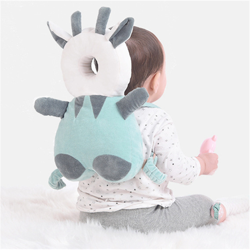 Baby Infant Walking Head Neck Back Protector Pillow Wings Cushion Soft Pad