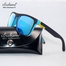 العلامة التجارية 2019 جديد مربع النظارات الشمسية الرجال الاستقطاب النظارات النساء نظارات الشمس القيادة الذكور Vintage نظارات