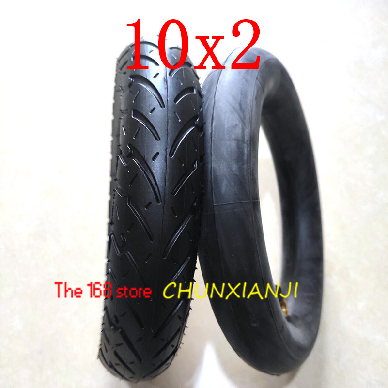 Image 5 - Size 10x2 Tube Tyre Bike  Heavy Duty 10 * 2 Tyre Inner Tube for Bike Tricycle Baby Stroller 3 Wheel Bicycle-in Tyres from Automobiles & Motorcycles