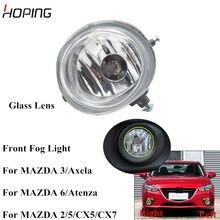 Luz antiniebla del parachoques delantero para Mazda 3, Axela, 2 / 5 / 6 / Atenza / CX-5 / CX-7