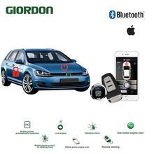 Universal Keyless Entry PKE Comfort System ios APP Phone Car Alarm Boost Remote Start Engine volkswagen
