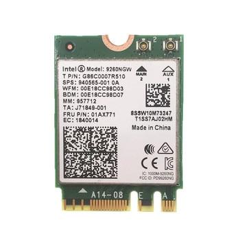 Для Intel 9260 9260NGW AC 1730 Мбит/с 2,4G/5 ГГц NGFF 802.11ac Wi-Fi Bluetooth 5,0