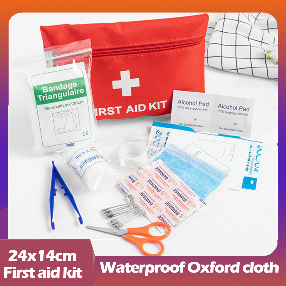 Home First Aid Kit Vehicle Emergency Kit Camping Travel First Aid Medicine Kit Fire First Aid Kit