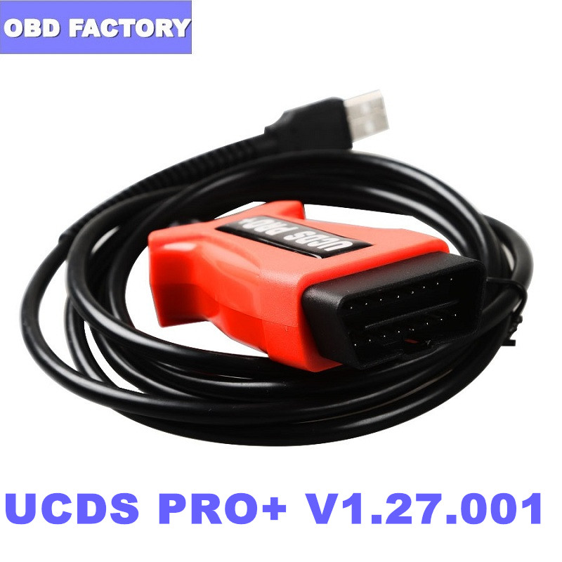 Cable Diagnostic Ucds Pro CAN Focom with 35 Tokens Full-Activater FOR V1.27.001 title=